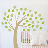 Windy Tree Fabric Decal ($87)