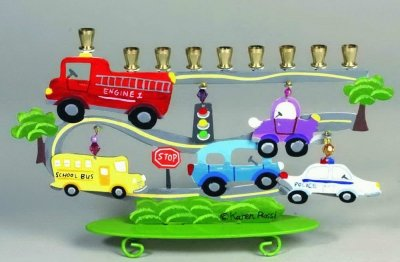 Transportation Menorah ($53)
