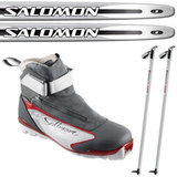 Salomon Cross-Country Ski Package