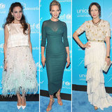 Pictures of Celebrities at the UNICEF Snowflake Ball in New York including Sarah Jessica Park, Uma Thurman and more!