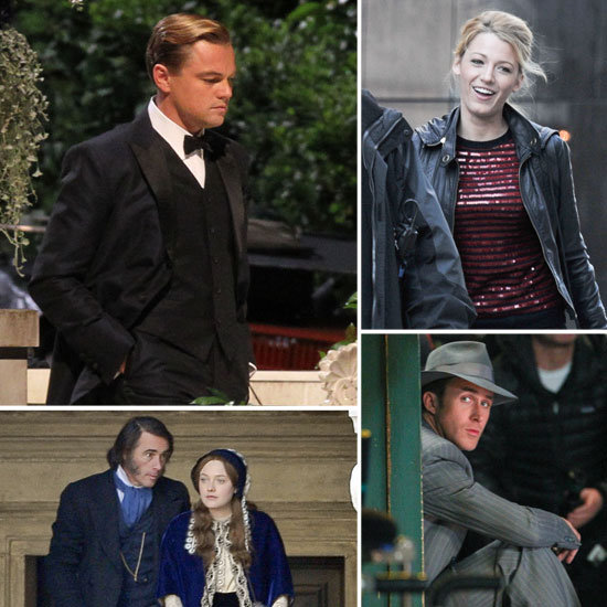 Leonardo DiCaprio, Blake Lively, Ryan Gosling, and More Stars on Set This Week!