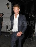 Prince Harry left London's Brompton Club.