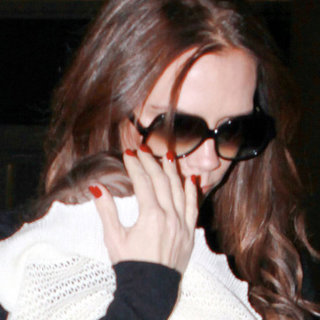 Victoria and Harper Beckham Pictures in LA From England