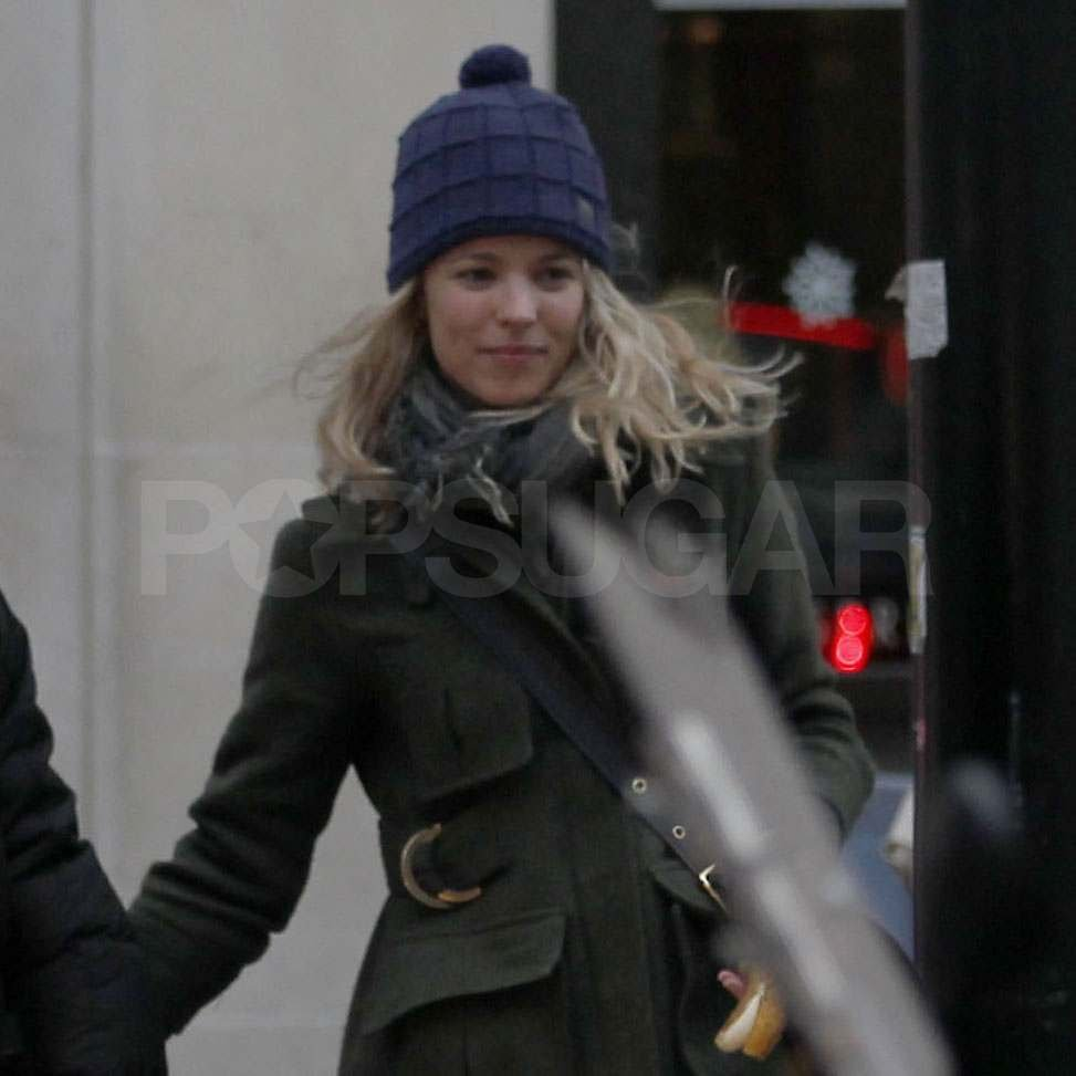 Rachel McAdams out in London.