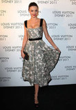 Miranda Kerr took a spin on the black carpet for Louis Vuitton in Sydney.