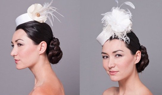 Fancy hair accessories for the wedding party or guests