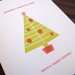 Beautiful Letterpress Holiday Cards