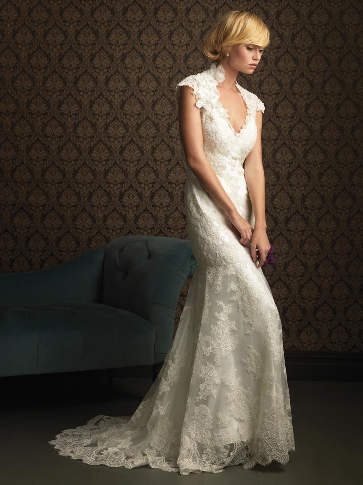Mermaid wedding dresses with sleeves begin the bridal challenge with more