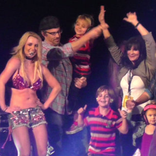 Britney Spears End of Femme Fatale Tour Party Pictures