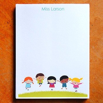 Personalized Teacher Notepads ($20)