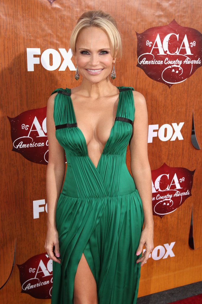 Kristin Chenoweth at the American Country Awards.