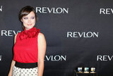 Olivia Wilde struck a pose for Revlon.