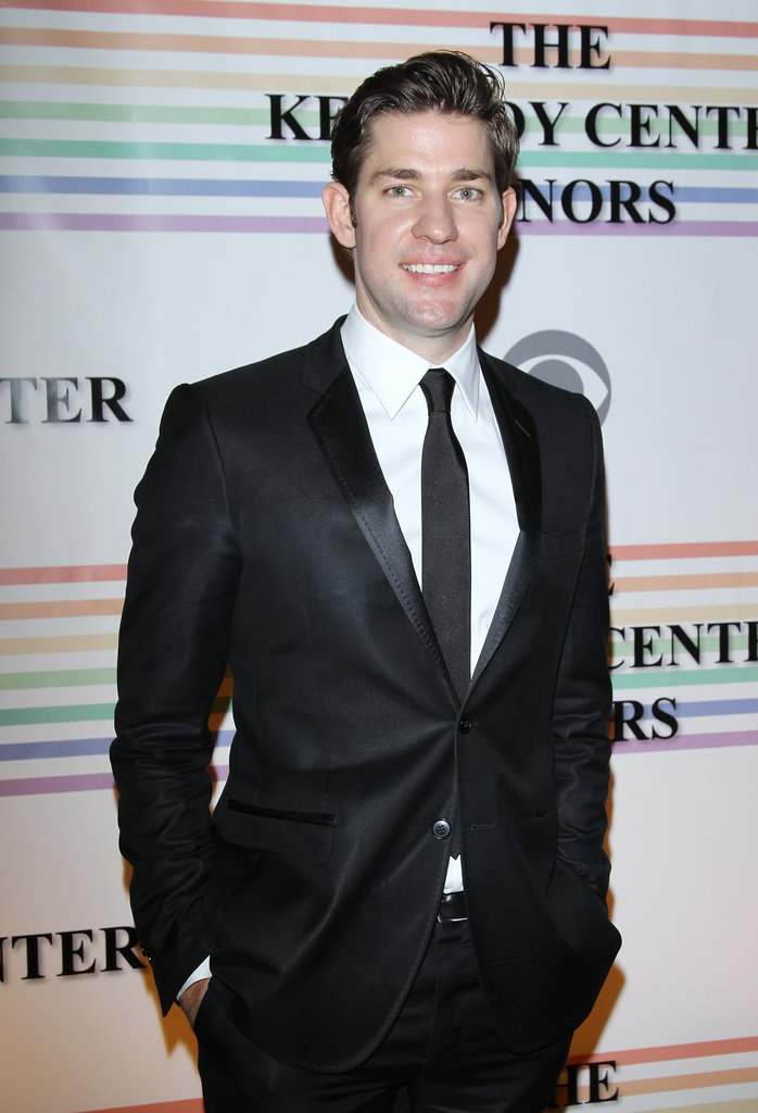 John Krasinski went black tie in DC.