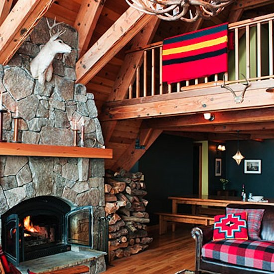 Cozy Tahoe Cabin Decorating Ideas