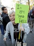 """This lady in New York was """"84 and mad as hell."""""""