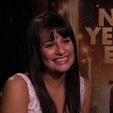 Lea Michele Video Interview For New Year's Eve