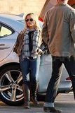Reese Witherspoon hung out in LA.