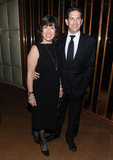 Christiane Amanpour and James Rubin stepped out for the afterparty for In the Land of Blood and Honey.