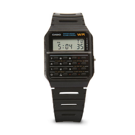 Casio classic calculator watch ($19)