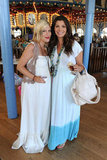 Tori Spelling and Ali Landry: Boho Bumps