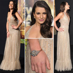Pictures of Lea Michele at the New Year's Eve Premiere in Hollywood: See Her ...