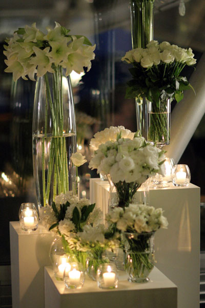 Wedding Reception on Wedding Reception Flowers