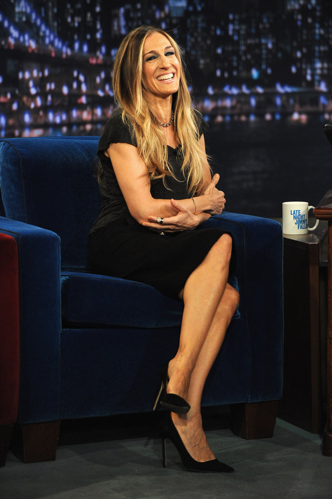 Sarah Jessica Parker was so pretty for Late Night With Jimmy Fallon.