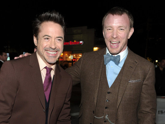 Guy Ritchie and Robert Downey Jr. kept the laughs going all night.