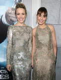 Rachel McAdams and Noomi Rapace got picture-perfect for the premiere of the latest Sherlock Holmes movie.