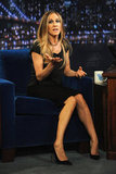 Sarah Jessica Parker told a story on a talk show appearance.
