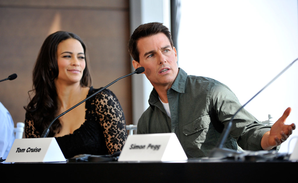 Tom Cruise answered a question about the latest Mission: Impossible film.