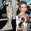 Rachel McAdams in Marchesa at Sherlock Holmes Premiere