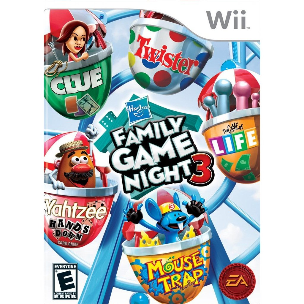 Hasbro Family Game Night 3 (Wii)
