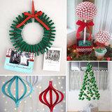 Deck the Halls: 12 DIY Holiday Decor Ideas