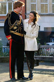 Prince Harry and Pippa Middleton look-alikes walk about in London.