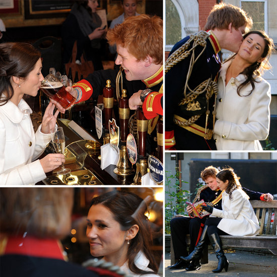 Prince Harry and Pippa Look-Alikes Imagine Royals in Love