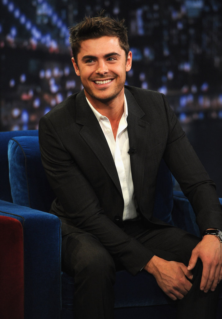Zac Efron was handsome as ever in NYC.