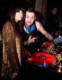 Nicole Richie and Joel Madden rang in 2010 at the Palazzo in Las Vegas.