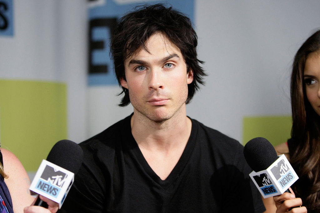 Ian Somerhalder joked around with MTV reporters during a July 2010 interview from Comic-Con in San Diego.