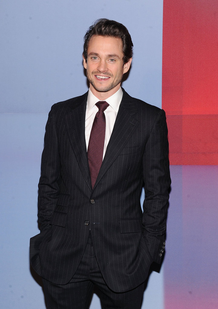 Hugh Dancy was also in attendance at the Valentino party.