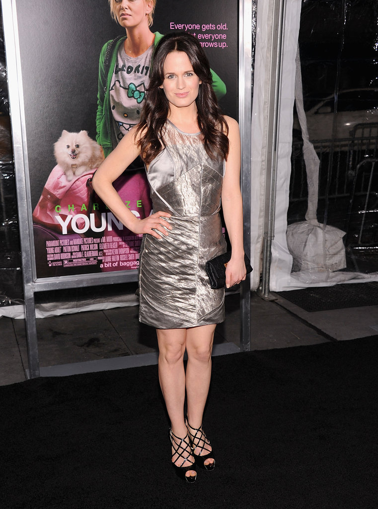 Elizabeth Reaser went metallic.