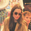 Angelina Jolie Brad Pitt Christmas Shopping Video