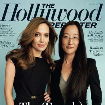 Angelina Jolie Hollywood Reporter Cover 2011