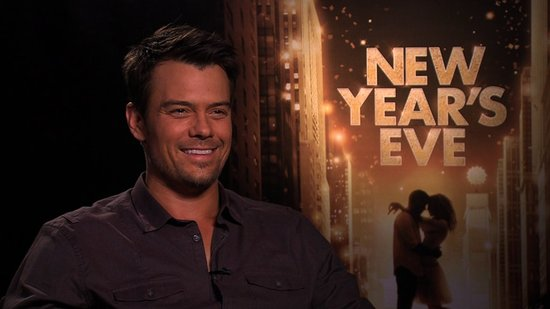 Josh Duhamel on New Year's Eve With Fergie and His Serious Resolution Routine