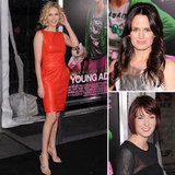 Charlize Is All Grown Up in Ravishing Red at Young Adult Premiere