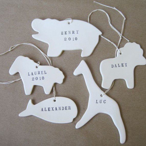 Custom Animal Ornament ($28)