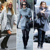 Trendy Grey Coats for Winter 2011