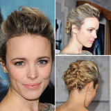 Pictures of Rachel McAdams Hairstyle From the Premiere of Sherlock Holmes