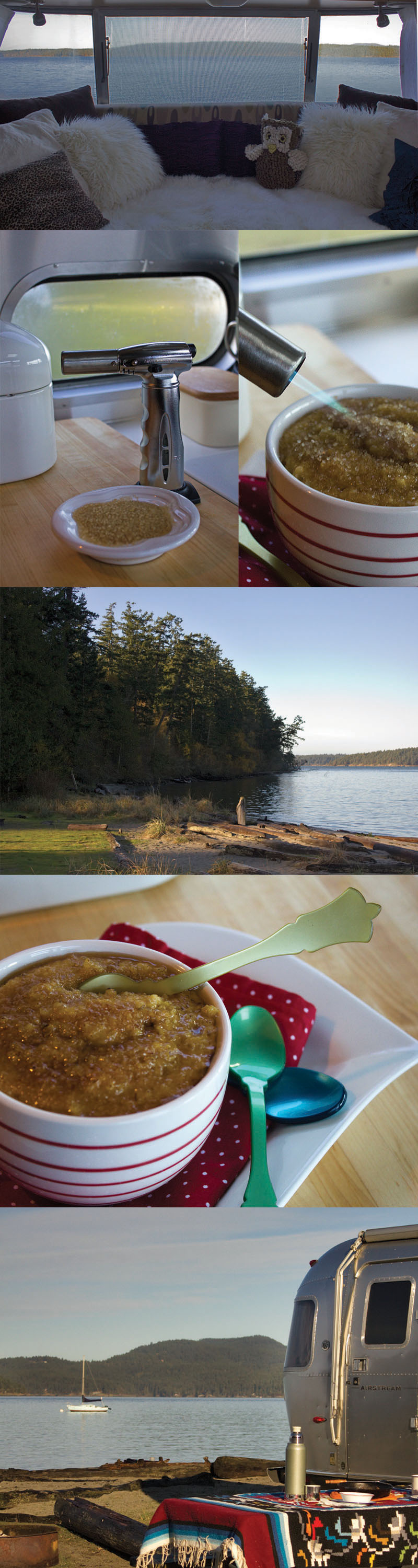 Breakfast on Lopez Island, WA State Odlin County Park