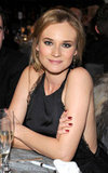 Diane Kruger got a deep red manicure for the UNICEF Ball.